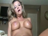 Mature Lady Straddles and Rides Big Black Cock on Video