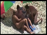 Voyeur Swinger Couples Making Sex at Beach Caught on Cam Vid