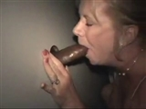 Interracial Glory Hole Sex Video