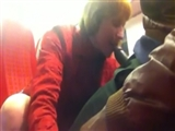 Voyeur Interracial Video in Train White Woman Sucks BBC