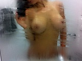 Nude Woman in the Shower Photo