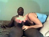 Mature Interracial Porn Vide of White Blonde with Black Stud
