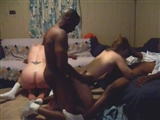 Black Orgy Sex Party White Woman with Black Men