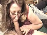 American Mom Sucks Cock