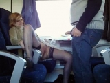 Mature Couple Has Sex Fun in Train