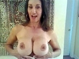 Busty Russian Wife Teases with Big Bouncy Boobs