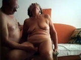 Horny Granny Gets her Pussy Fingered by Senior Neighbor