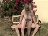 Undressing Mature Mom and Making a XXX Video