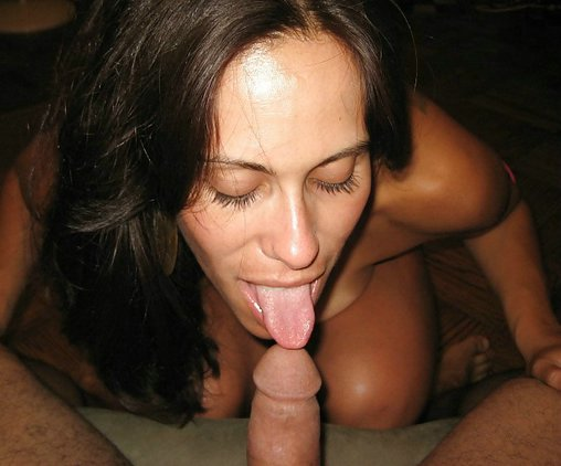 Amateur blowjob mom