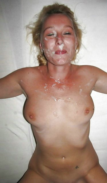 Amateur Mature Facial Photo