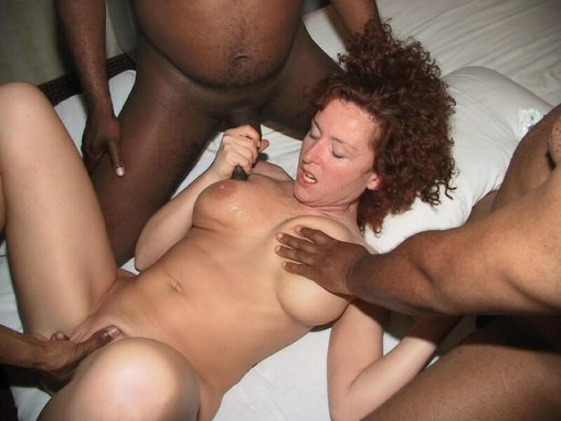 Interracial fucking video