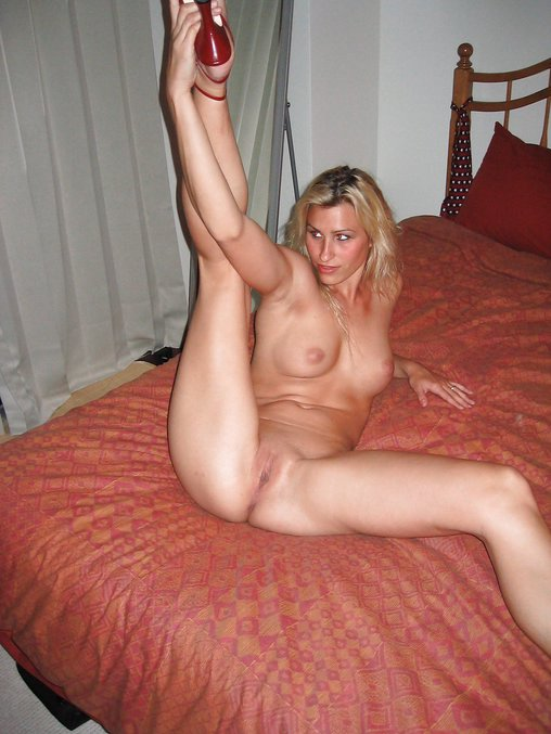 Wife Lays Down On Bed As Husband Takes Nude Photos