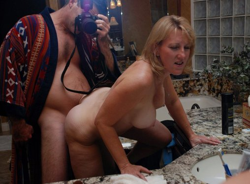 Porn Photo of Nude Mature Wife Fucked by Husband