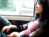 Masturbating in Public Train