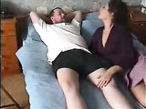 Horny Mom Blows Plummer Worker Dick