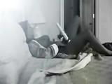Drunk Mom Masturbates Alone at Home While Spy Cam Records