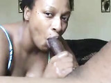 Black Grandma Sucking and Fucking Black Grandpa