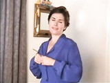 Mature Lady Doing Her First Stripping On Camera