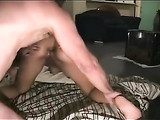 Girlfriend Stretches Her Asshole with the Help of Her Man