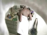 Perfect Naked Body of Black Woman Filmed on Hidden Camera