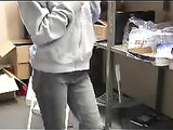 Amateur Blonde Lady Filmed Voyeur Strip Undressing Video