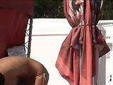 Candid Voyeur Mujer Vídeo Topless Beach con grandes tetas
