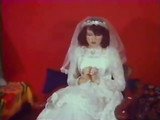 Heiße Vintage Anal Sex Movie Leinwand Jungfrau Braut in Arsch gefickt