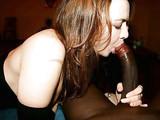 Fotos gratis de Mujer Blanca Sucking Cock Negro