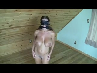 Share your Big tit wife tied up