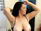 Big Ass and Big Tits Wife Sucking Deep Cock and Getting Splash