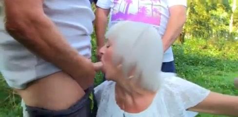 granny sex outdoor