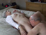Hot Granny Cums while Getting Her Pussy Licked